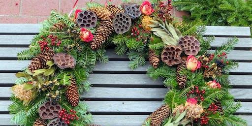 3rd Annual Wreath Workshop