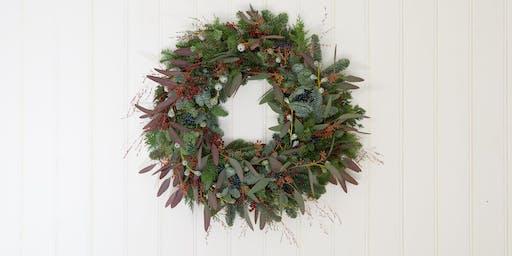Wreath-making workshop with Borrowed Light Floral Studio