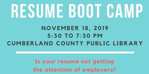 Resume Bootcamp