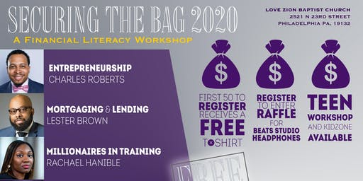 """Securing the Bag 2020"" Financial Literacy Workshop"