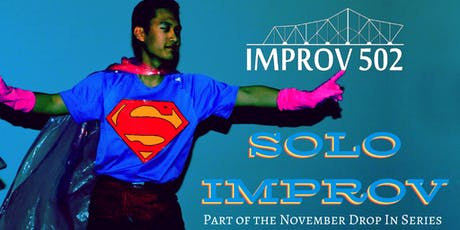 Solo Improv (Drop In Class) tickets