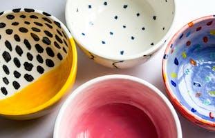 Super Bowl: Ceramic Bowl Customization - Short Hills
