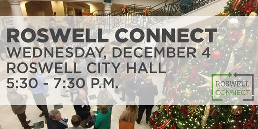 December Roswell Connect at City Hall