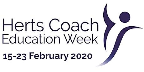 Behaviour Change Tactics - UK Coaching tickets