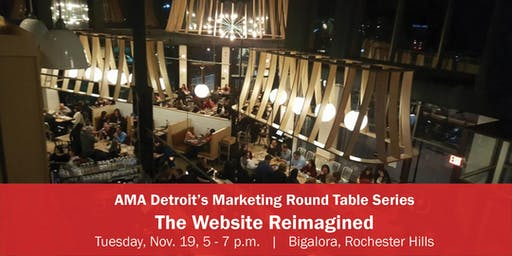 Marketing Roundtable Series: The Website Reimagined