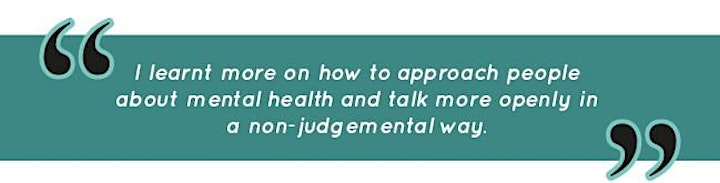 Mind Matters: Mental Health Awareness Training - Thursday, 18 March image