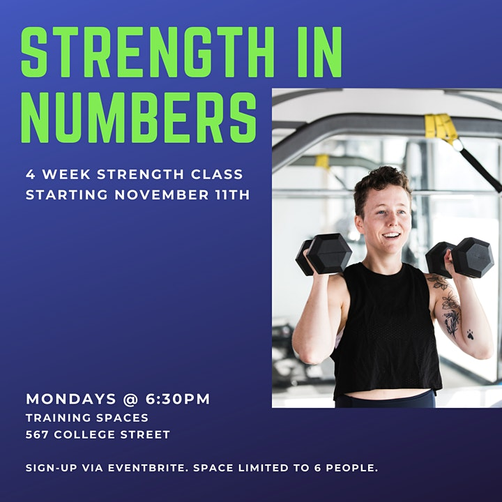 Strength In Numbers: a 4-Week Strength Class image