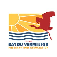 "Bayou Vermilion Preservation Association & ""Partners in Preservation""  logo"