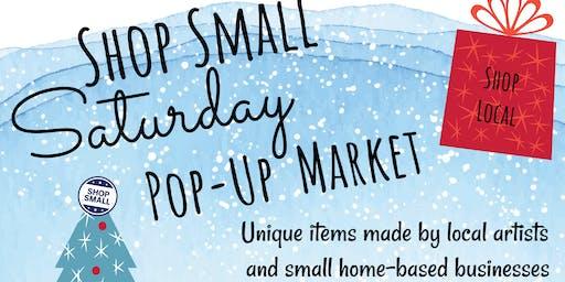 Shop Small Saturday Pop-Up Market