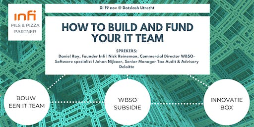 How to build and fund your IT Team