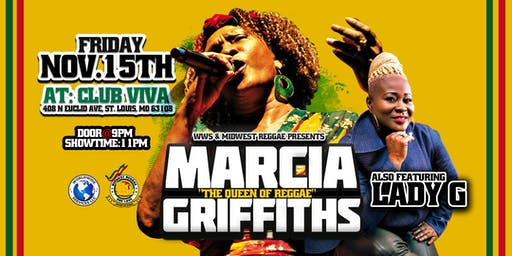 MARCIA GRIFFITHS LIVE!