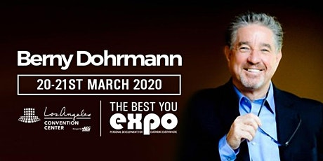 Berny Dohrmann at The Best You EXPO 2020, Los Angeles tickets