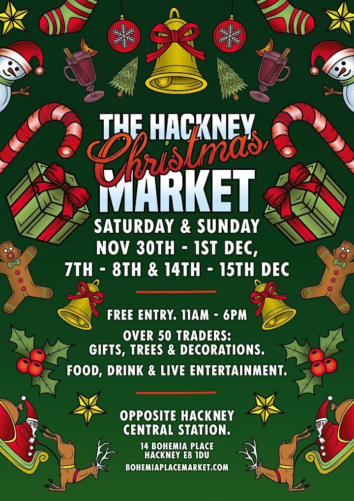 Hackney's Christmas Market on Bohemia Place! image