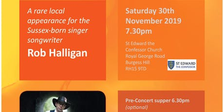 Rob Halligan Live! tickets
