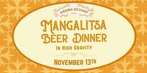 Mangalista Beer Dinner