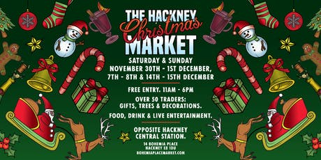 Hackney's Christmas Market on Bohemia Place! tickets