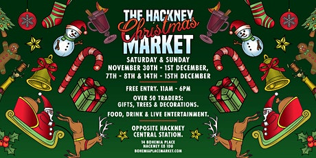 Hackney's Christmas Market on Bohemia Place! tickets