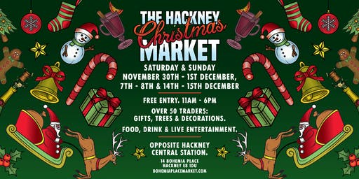 Hackney's Christmas Market on Bohemia Place!