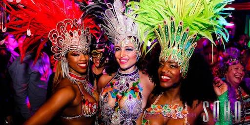 New Years Eve at SOHO - Mardis Gras with LIVE DANCERS & DJ SUPER SARAH!