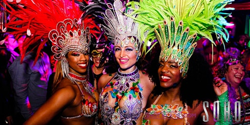 New Years Eve at SOHO - Mardis Gras with LIVE DANCERS & DJ SUPER SARAH!