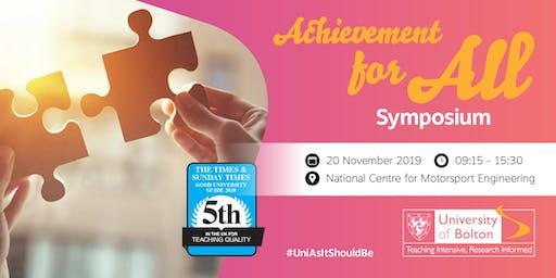 Achievement for All Symposium