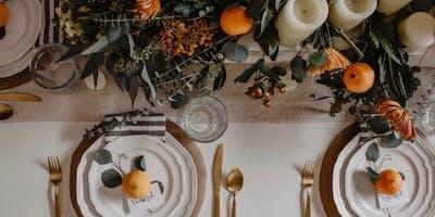 Thanksgiving Tablescape Design Class