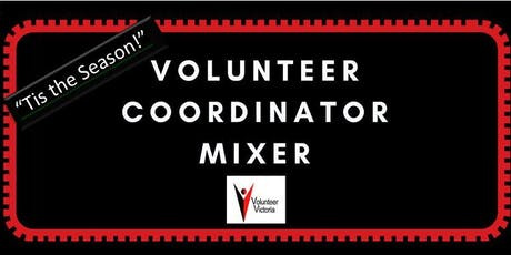 """Tis the Season"" Volunteer Coordinators Mixer   hosted by Volunteer Victoria tickets"