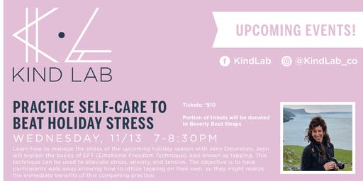 Practice Self-Care to Beat Holiday Stress: EFT Tapping Workshop