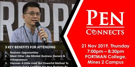 PEN CONNECTS - Connect with Digital Marketing tickets