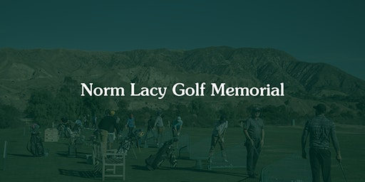 5th Annual NORM LACY Golf Memorial