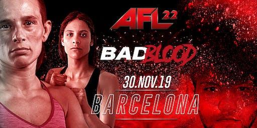 AFL-22 BARCELONA ( MMA )