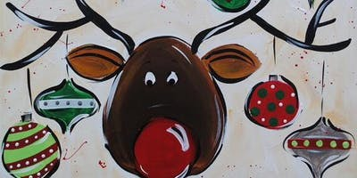 Reindeer Games Paint Party