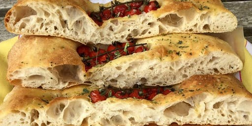 Italian Cooking: Focaccia, Pizza and Ciabatta!