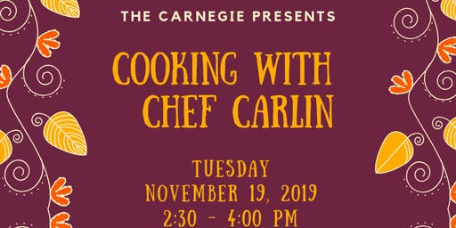 Cooking with Chef Carlin