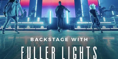 Backstage with Fuller Lights, Washington DC