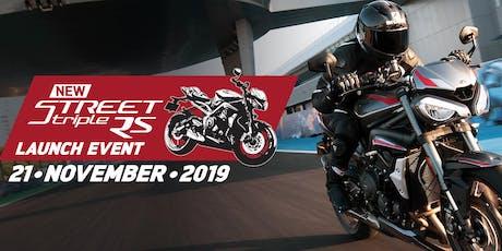 Norfolk Triumph Street Triple RS Launch Evening tickets