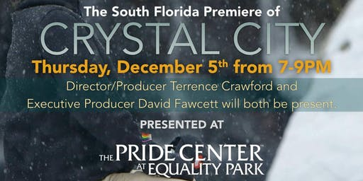 """Crystal City"" screening - documentary about gay men, meth and recovery"