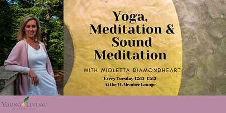 Yoga, Meditation & Sound Meditation with Wioletta Diamondheart tickets