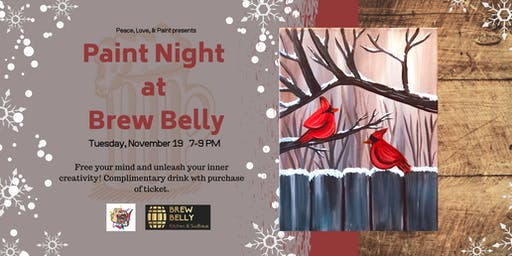 Paint Night at Brew Belly