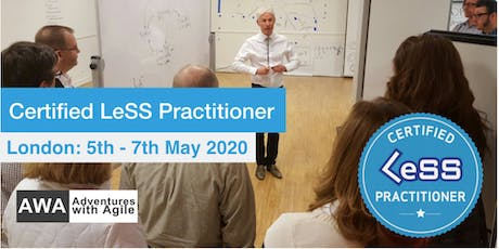 Certified LeSS Practitioner Course with Craig Larman - May 2020 | London tickets