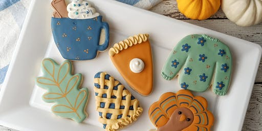 Sip & Ice - Thanksgiving Cookie Decorating at Rede