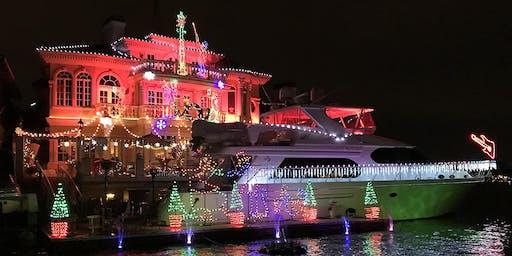 Holiday Lights Cruise, Huntington Beach