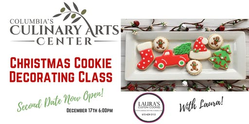 SECOND DATE!! Christmas Cookie Decorating Class with Laura!