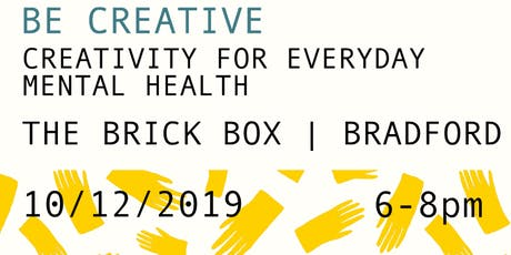 Be Creative tickets