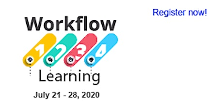 Workflow Learning in Operations, Processes and Software Workshop (July 21, 24, & 28. 2020) tickets