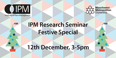 IPM Research Seminar tickets