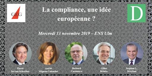 La compliance, une idée européenne ?
