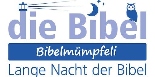 Bibelmümpfeli - lange Nacht der Bibel