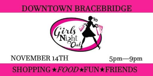 Girls Night Out Downtown Bracebridge