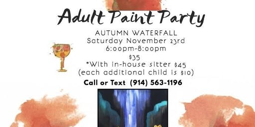 Adult Paint Party